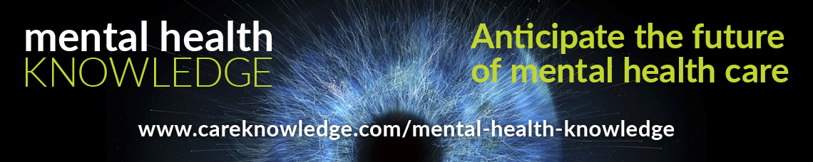 Mental Health Knowledge banner - Anticipate the future of mental health care