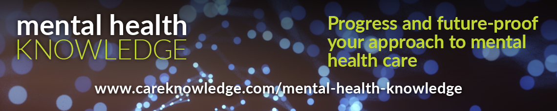 Mental Health Knowledge banner - Progress and future-proof your approach to mental health care