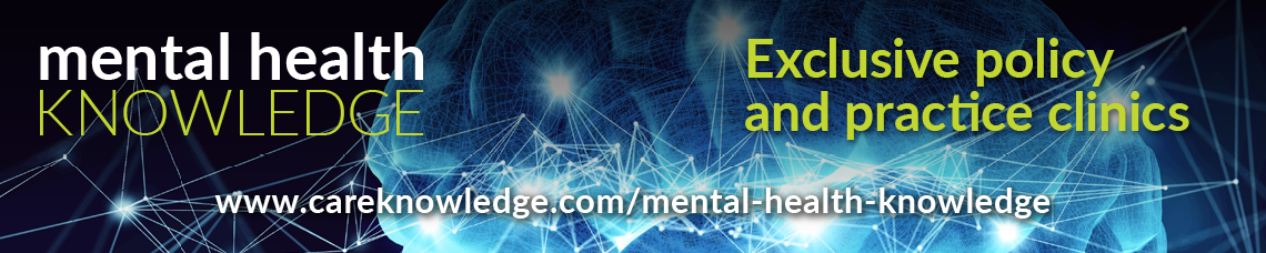 Mental Health Knowledge banner - Exclusive policy and practice clinics
